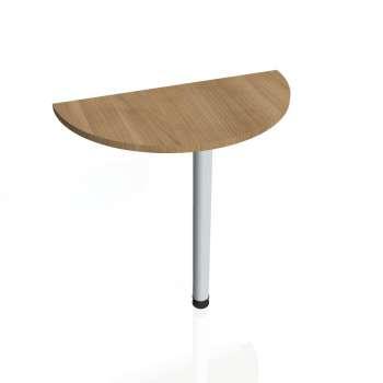 Přídavný stůl Hobis PROXY PP 80, višeň/kov