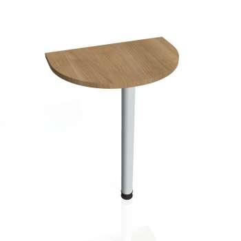 Přídavný stůl Hobis PROXY PP 60, višeň/kov