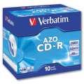 CD-R Verbatim - standard box, 10 ks