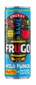Energetický nápoj FRUGO - Wild Punch Blue, bal. 24x 330 ml