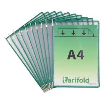 Kapsy Tarifold otevřené shora, zelené, 10 ks