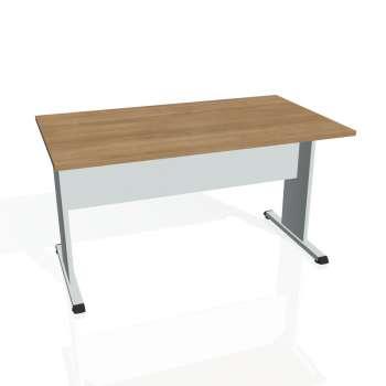 Jednací stůl Hobis PROXY PJ 1400, višeň/šedá