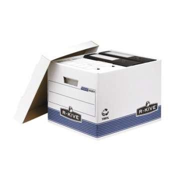 Archivační kontejner  s víkem R-Kive, 10 ks