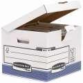 Archivační krabice R-Kive - bílé, 37,3 x 31 x 39,5 cm, 10 ks