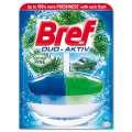 Závěsný WC blok Bref Duo Aktiv - borovice, deodorant