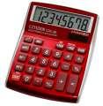 Stolní kalkulačka Citizen CDC-80 – červená