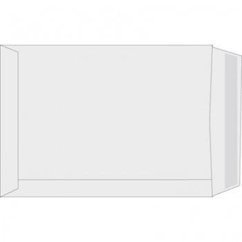 Obchodní tašky Office Depot - C4, samolepicí, bílé, 250 ks
