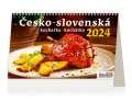 Stolní kalendář 2022 Česko-slovenská kuchařka