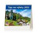 Stolní kalendář 2022 Mini Tipy na výlety