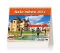 Stolní kalendář 2022 Mini Naše města