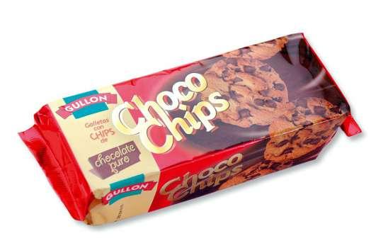 Koláčky Choco Chips - čokoládové, 125 g