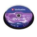 DVD+R Verbatim - cake box, 10 ks
