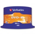 DVD-R Verbatim - cake box, 50 ks