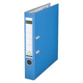 Pákový pořadač LEITZ 180° - A4, plastový, hřbet 5,2 cm, světle modrá