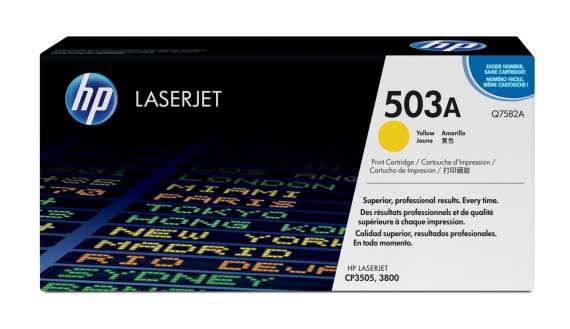 Toner HP Q7582A/503A - žlutý