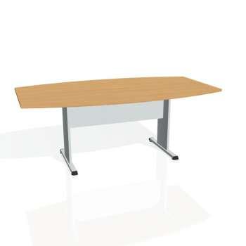 Jednací stůl Hobis PROXY PJ 200, buk/šedá
