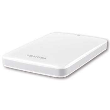 "Externí harddisk Toshiba Stor.e Canvio 2.5"" - 1 TB, bílá"