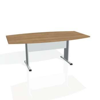 Jednací stůl Hobis PROXY PJ 200, višeň/šedá