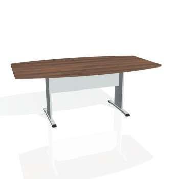 Jednací stůl Hobis PROXY PJ 200, ořech/šedá