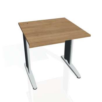 Psací stůl Hobis CROSS CS 800, višeň/kov