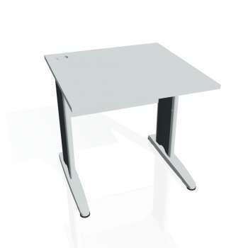 Psací stůl Hobis CROSS CS 800, šedá/kov