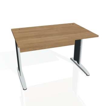 Psací stůl Hobis CROSS CS 1200, višeň/kov