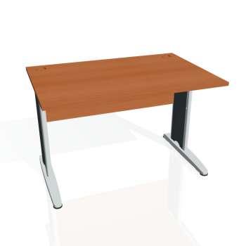 Psací stůl Hobis CROSS CS 1200, třešeň/kov