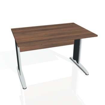 Psací stůl Hobis CROSS CS 1200, ořech/kov