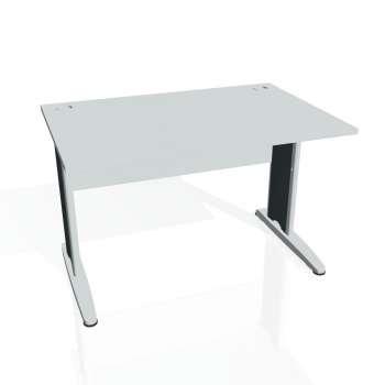 Psací stůl Hobis CROSS CS 1200, šedá/kov