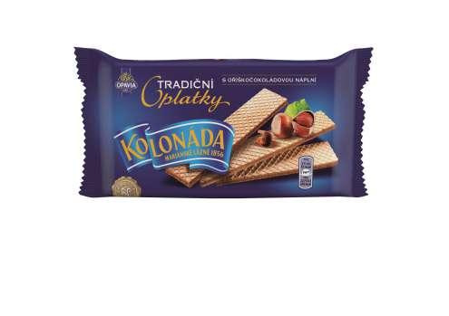 Tradiční Kolonáda oplatky - oříško-čokoládové, 140 g