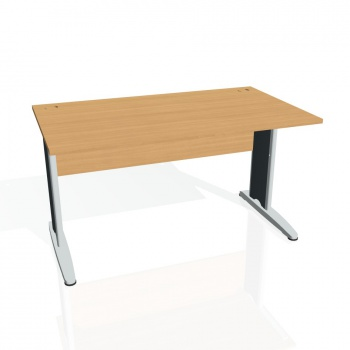 Psací stůl Hobis CROSS CS 1400, buk/kov