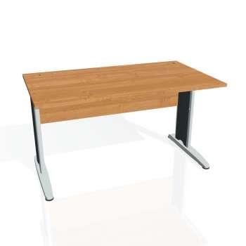 Psací stůl Hobis CROSS CS 1400, olše/kov