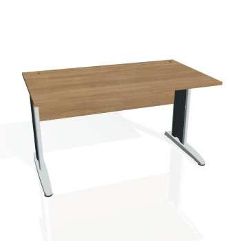 Psací stůl Hobis CROSS CS 1400, višeň/kov