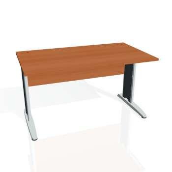 Psací stůl Hobis CROSS CS 1400, třešeň/kov