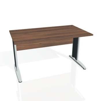 Psací stůl Hobis CROSS CS 1400, ořech/kov