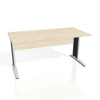 Psací stůl Hobis CROSS CS 1600, akát/kov