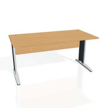 Psací stůl Hobis CROSS CS 1600, buk/kov