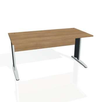 Psací stůl Hobis CROSS CS 1600, višeň/kov