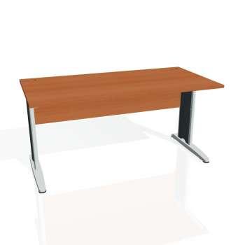 Psací stůl Hobis CROSS CS 1600, třešeň/kov