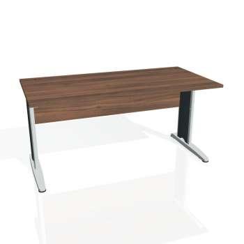Psací stůl Hobis CROSS CS 1600, ořech/kov
