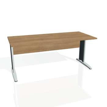 Psací stůl Hobis CROSS CS 1800, višeň/kov