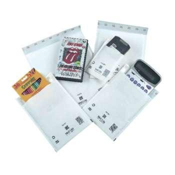 Bublinkové obálky A4 samolepicí s krycí páskou, 50 ks