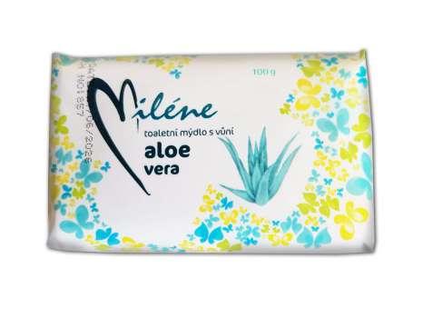 Mýdlo - Miléne, Aloe Vera, 100 g