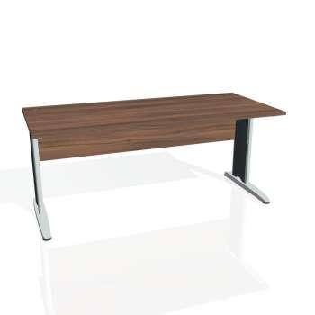 Psací stůl Hobis CROSS CS 1800, ořech/kov