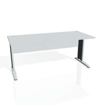 Psací stůl Hobis CROSS CS 1800, šedá/kov