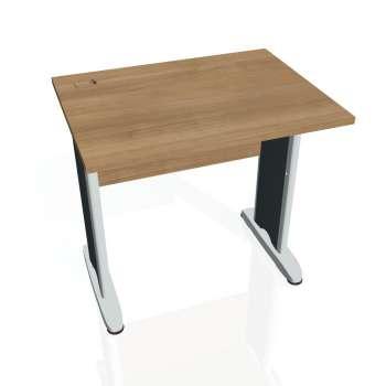 Psací stůl Hobis CROSS CE 800, višeň/kov