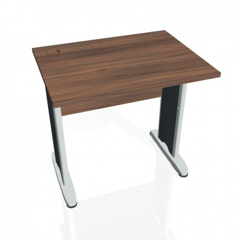 Psací stůl Hobis CROSS CE 800, ořech/kov