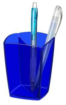 Kalíšek na tužky CepPro Happy - modrý