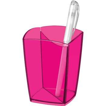 Kalíšek na tužky CepPro Happy - růžový