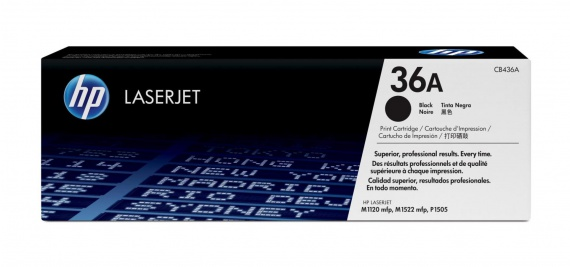 Toner HP CB436A/36A - černý